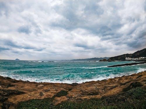 Free stock photo of beach, blue, nature