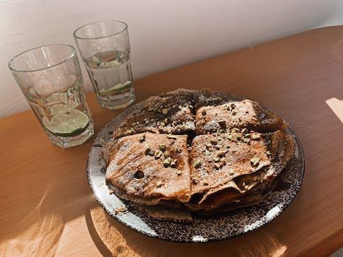 Darmowe zdjęcie z galerii z chleb, danie, domowej roboty, drewno