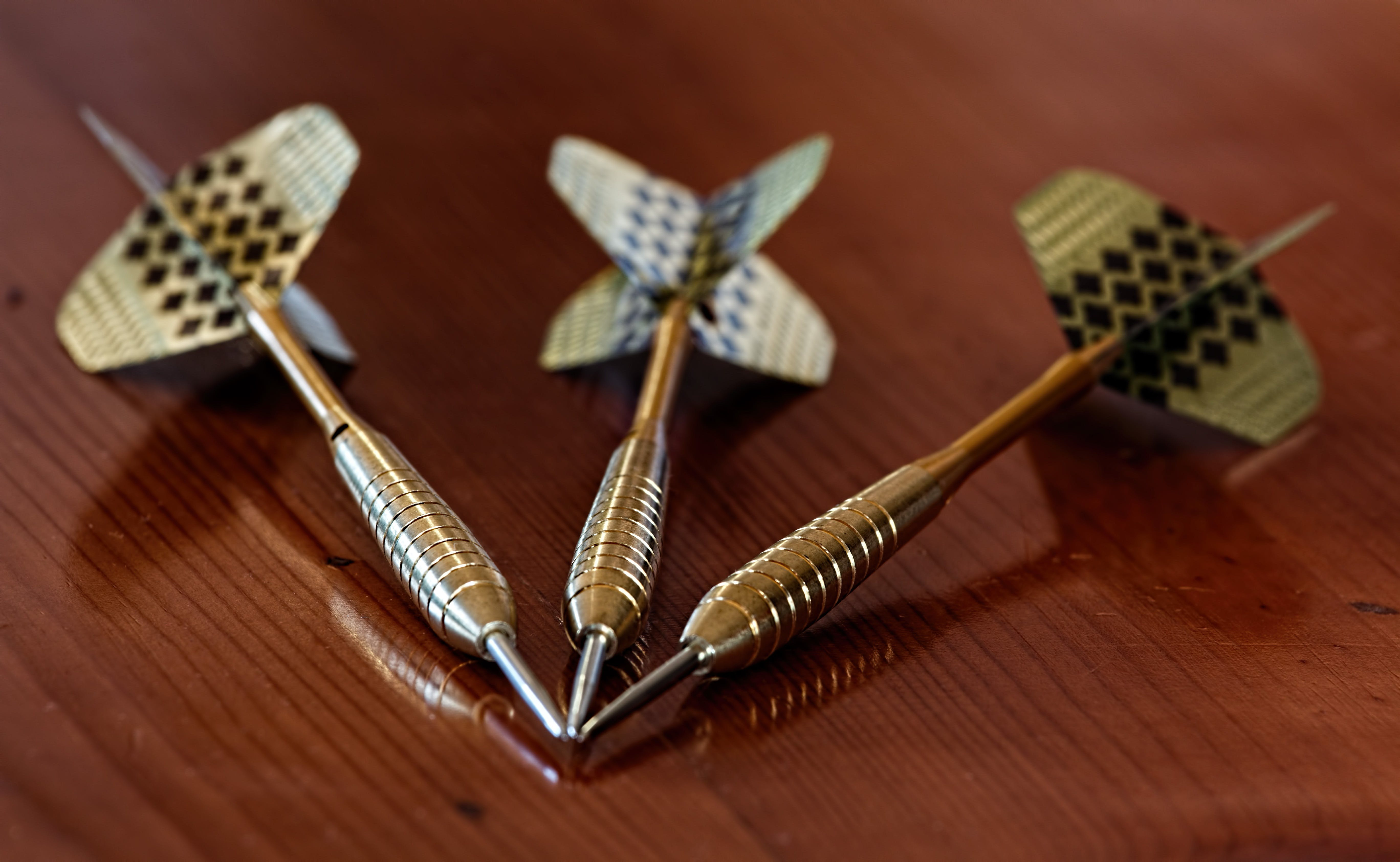 3 Metal Darts Pin
