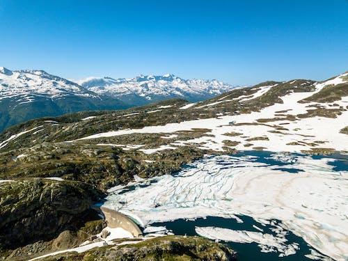Photos gratuites de couvert de neige, destination de voyage, enneigé