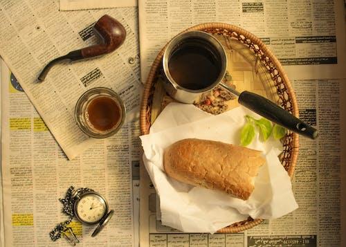 Imagine de stoc gratuită din aparat de fotografiat, cafea, cafea neagră, Canon