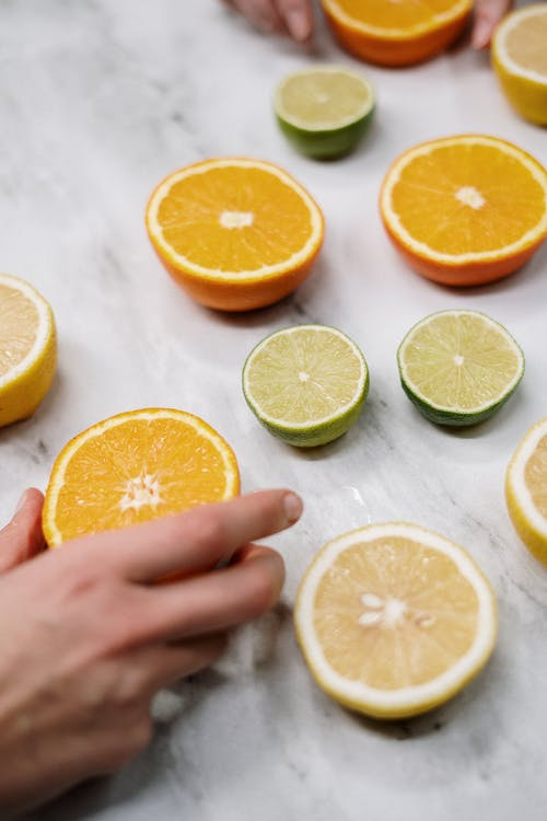 Sliced Citrus Fruits
