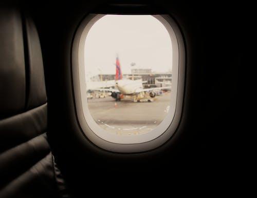 Immagine gratuita di aeroporto, compagnia aerea
