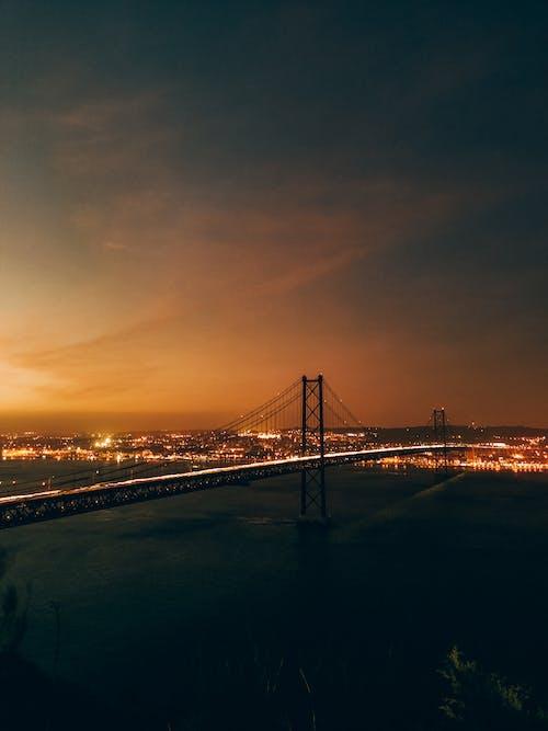 Бесплатное стоковое фото с архитектура, восход, город, закат