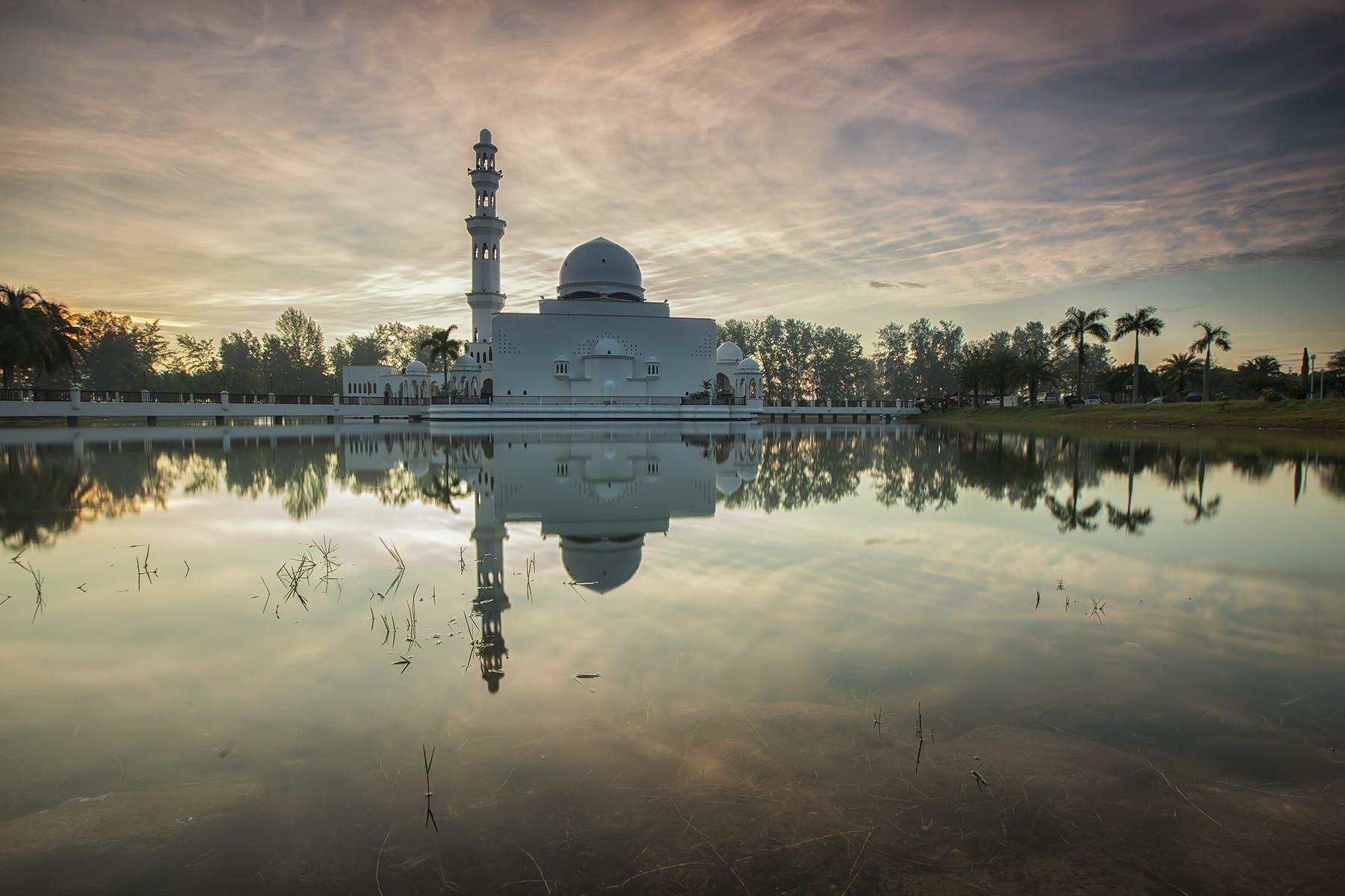 伊斯蘭, 反射, 地標, 天性 的 免費圖庫相片