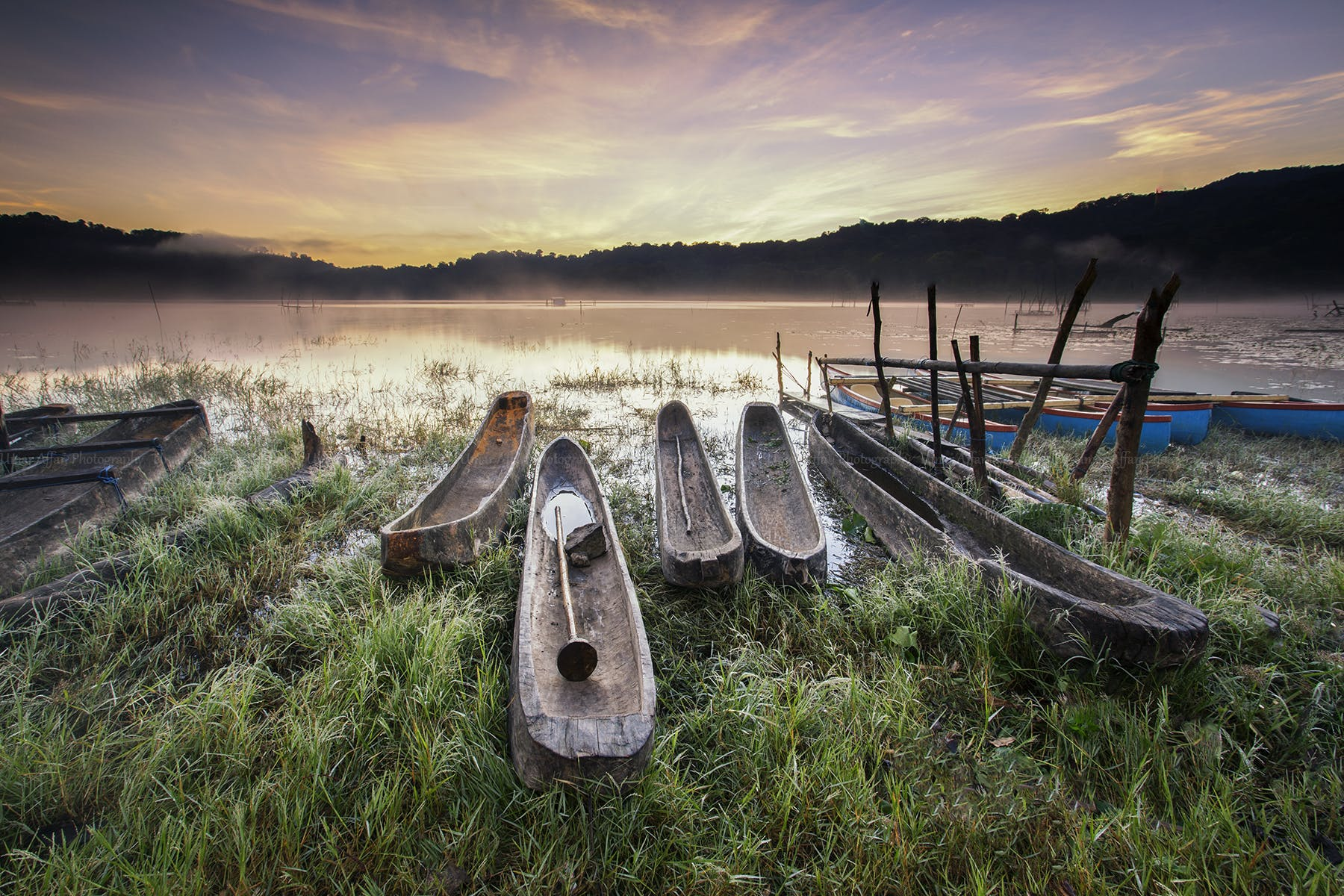 Canoes on Body of Water