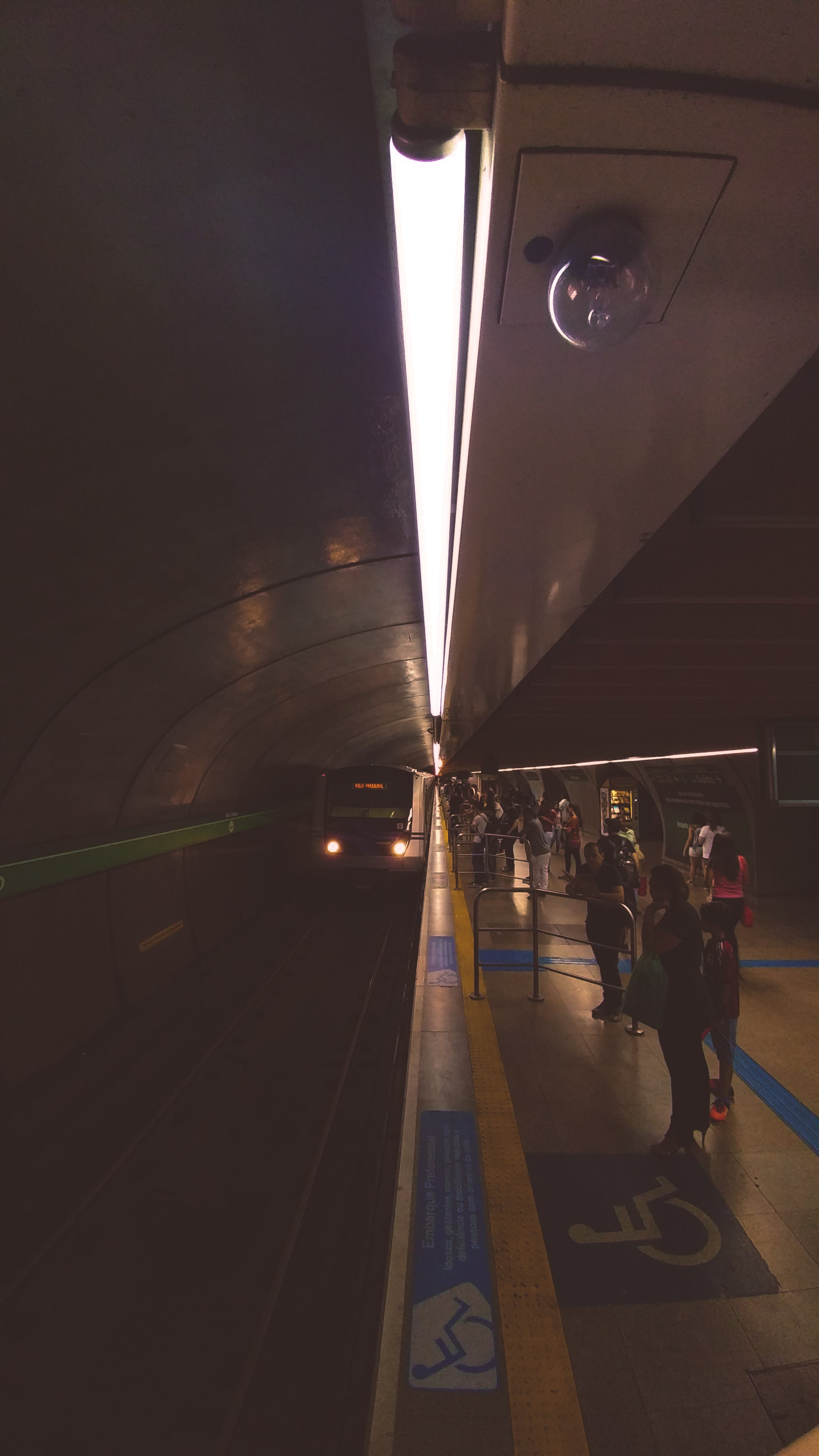 Free stock photo of lights, metro, peoples, sao paulo