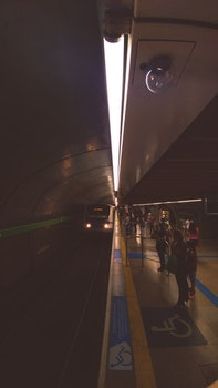 Free stock photo of lights, metro, subway, peoples