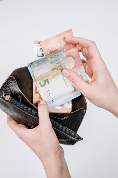 คลังภาพถ่ายฟรี ของ กระเป๋าสตางค์, การชำระเงิน, การธนาคาร, การเงิน