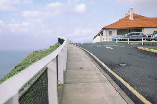 Photos gratuites de asphalte, barrière, chaussée, clôture