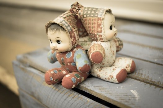 Free stock photo of old, dolls, puppets, toys