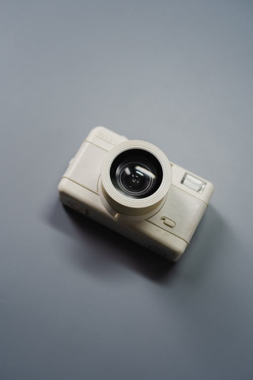 White Point and Shoot Camera