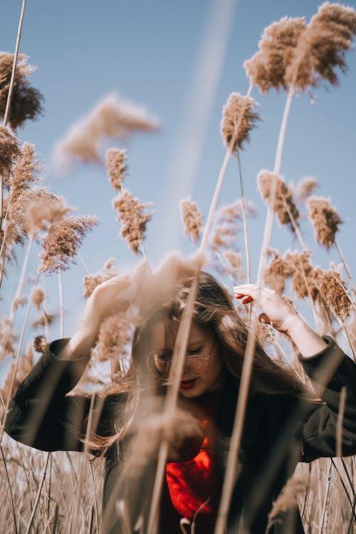 Darmowe zdjęcie z galerii z kobieta, krajobraz, ładny, lato