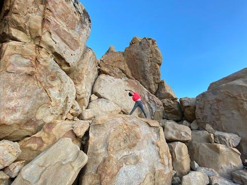 人, 冒險, 岩石 的 免費圖庫相片