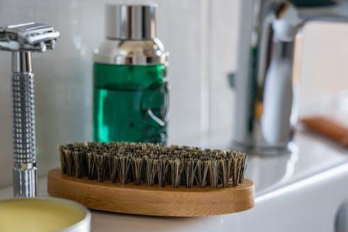 Foto d'estoc gratuïta de afeitadora, enfonsar-se, pica, pinzell