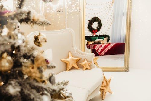 Fotos de stock gratuitas de adentro, adornos de navidad, adornos navideños, árbol de Navidad