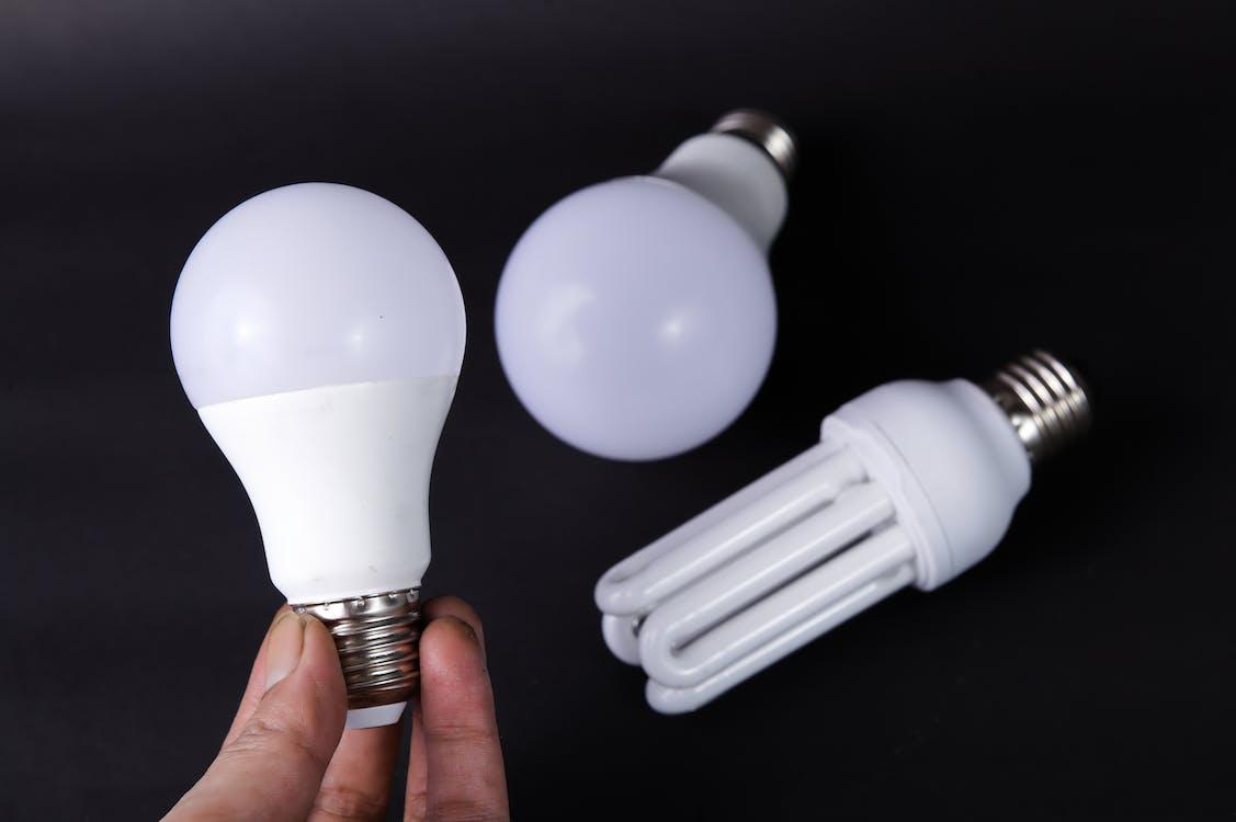 White Light Bulbs