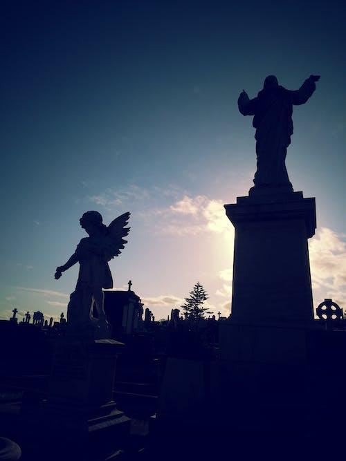 Безкоштовне стокове фото на тему «могила, цвинтар, янгол»