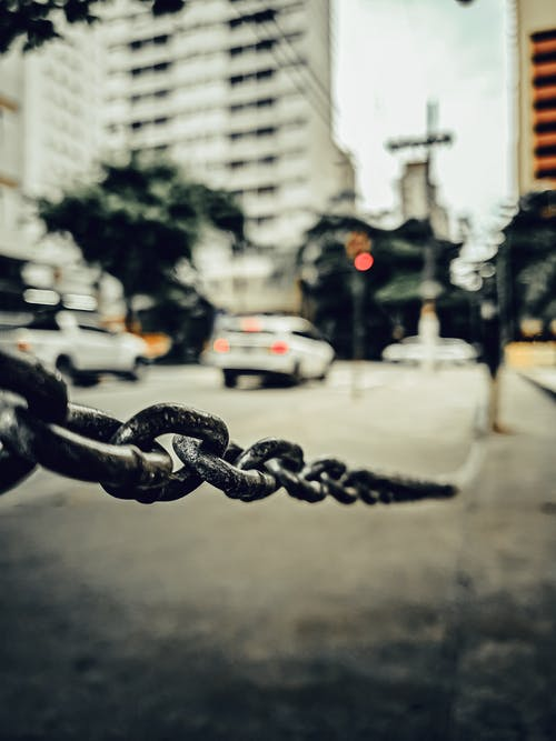 Free stock photo of chain, chain-link, City Street