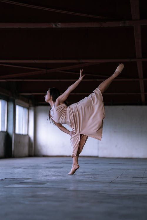 Woman Doing Ballet