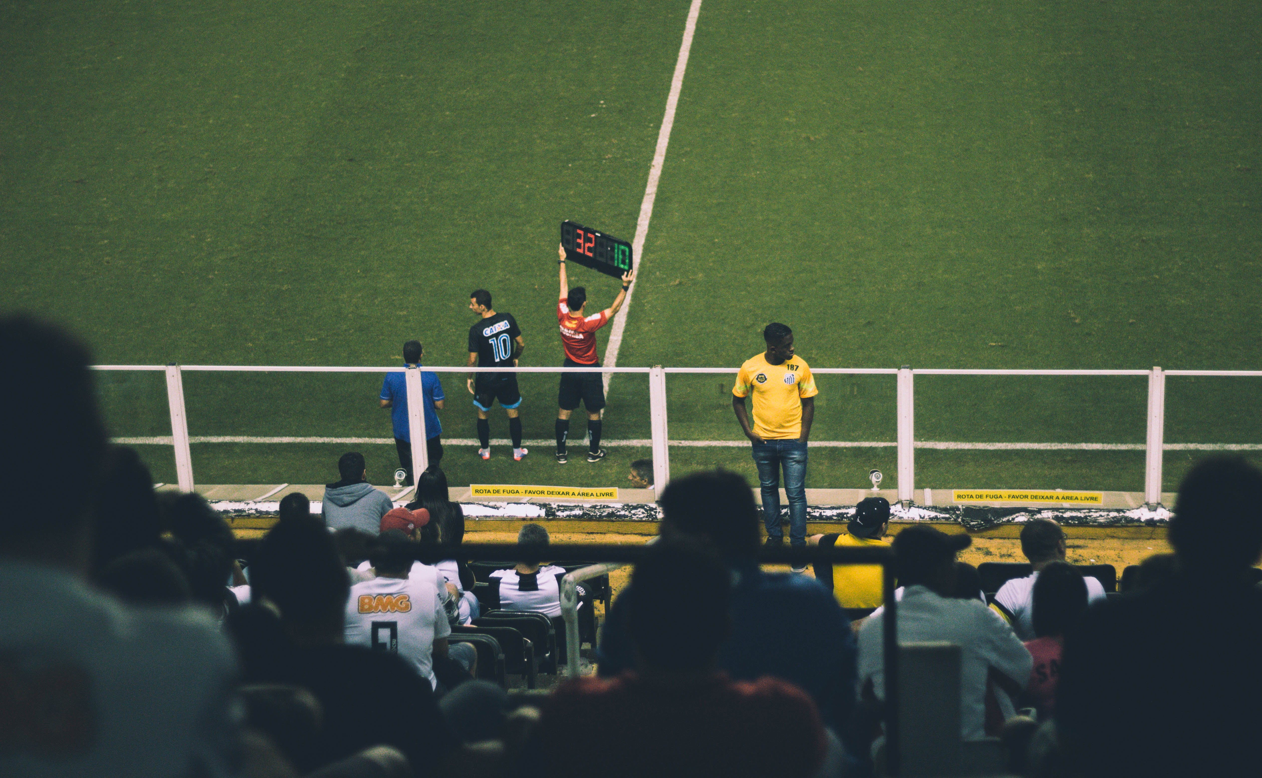 Photo of Crowd of People in Soccer Stadium