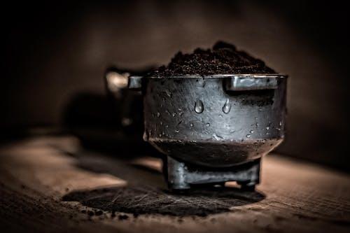 Foto stok gratis ampas kopi, berbayang, berfokus, berkonsentrasi