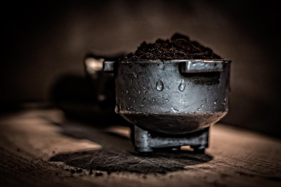 fokus, fokusere, kaffe