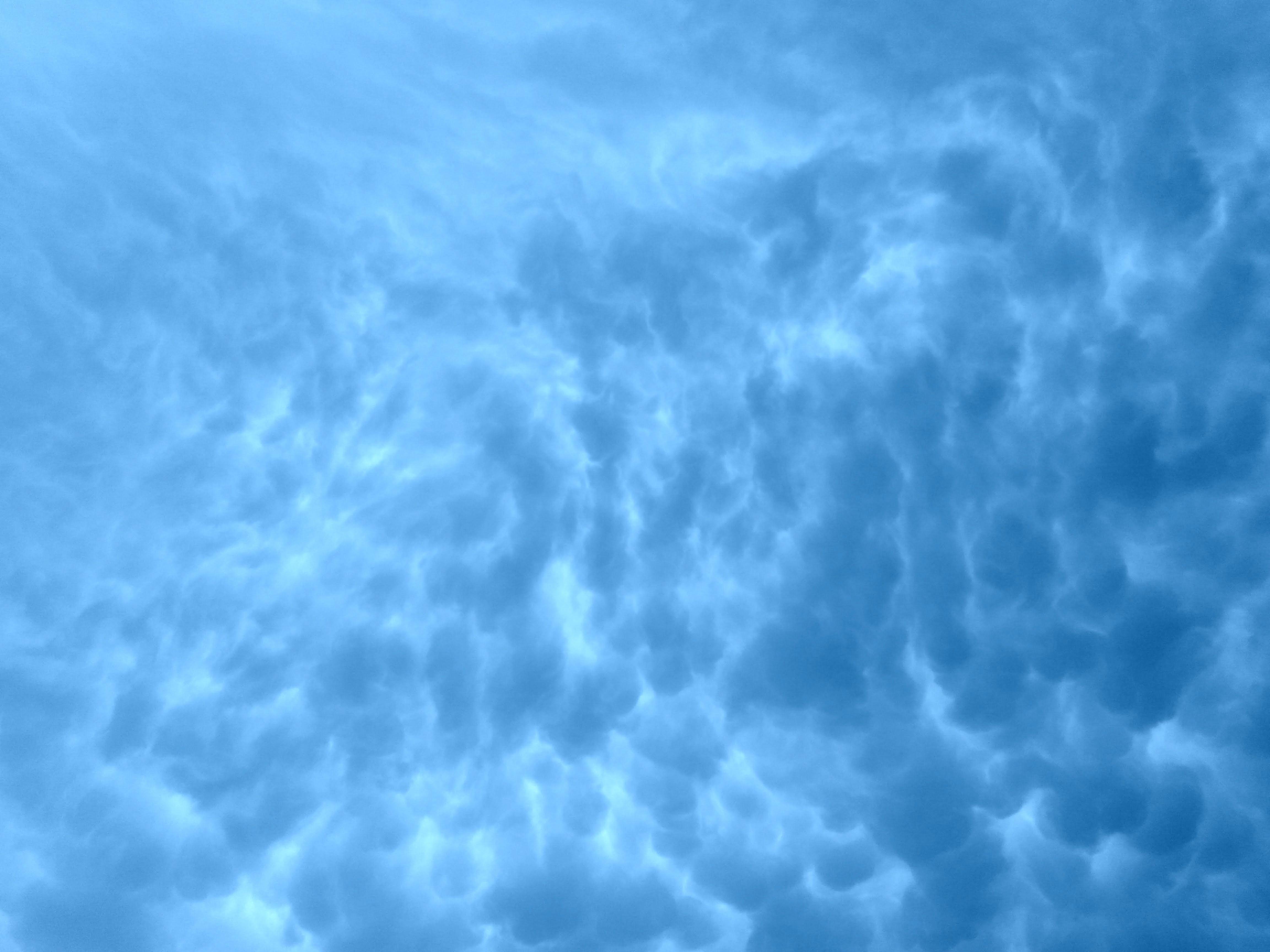 baggrund, blå, blå himmel