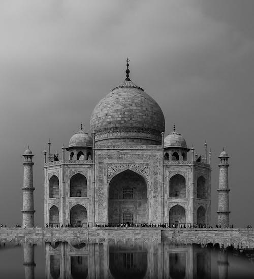 アーチ, アート, インド, タージマハルの無料の写真素材
