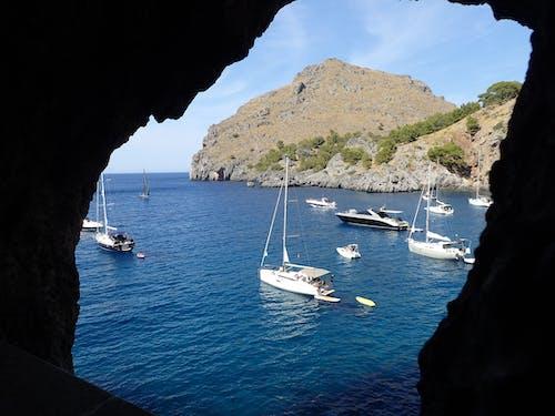 假期, 地中海, 海, 船 的 免费素材照片