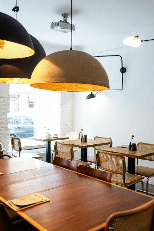 Brown Wooden Tables With Chairs