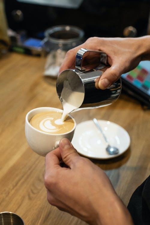 Fotos de stock gratuitas de arte latte, beber, bebida