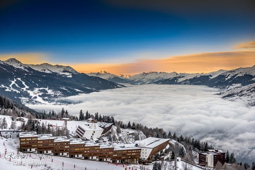 Free stock photo of alps, clowds, cold, france