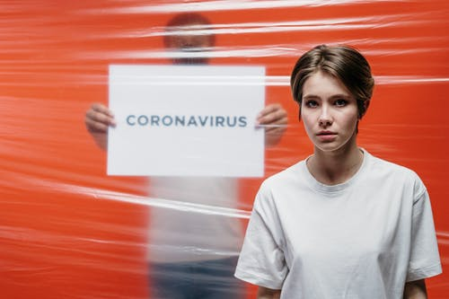 Photo Of People's Reaction To Coronavirus