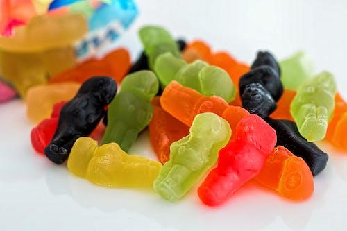 Бесплатное стоковое фото с жевательные мишки, жевательный, конфета, красочный