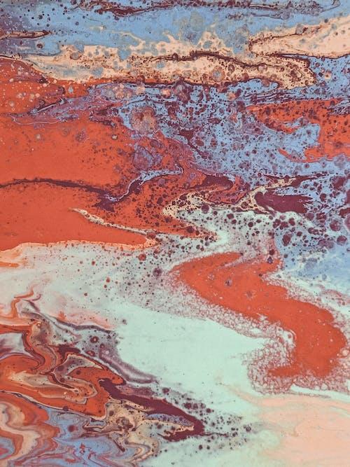 akrilik boya, artistik, boya, boyama içeren Ücretsiz stok fotoğraf