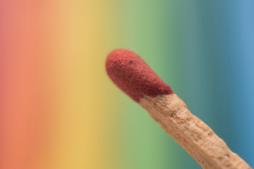 Free stock photo of colour, match stick