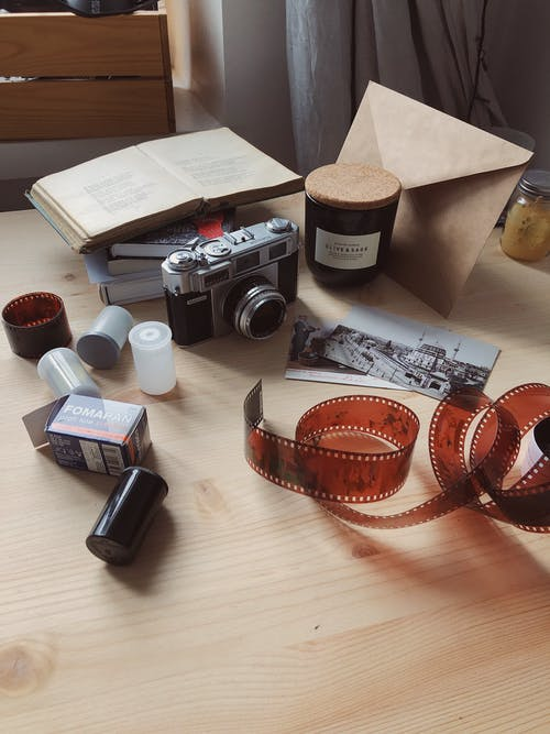 Camera And Roll Films