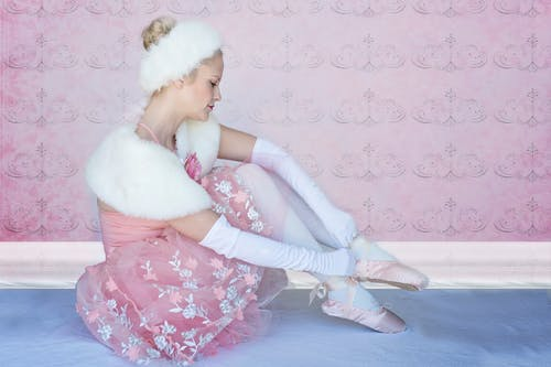 Woman In Ballerina Costume