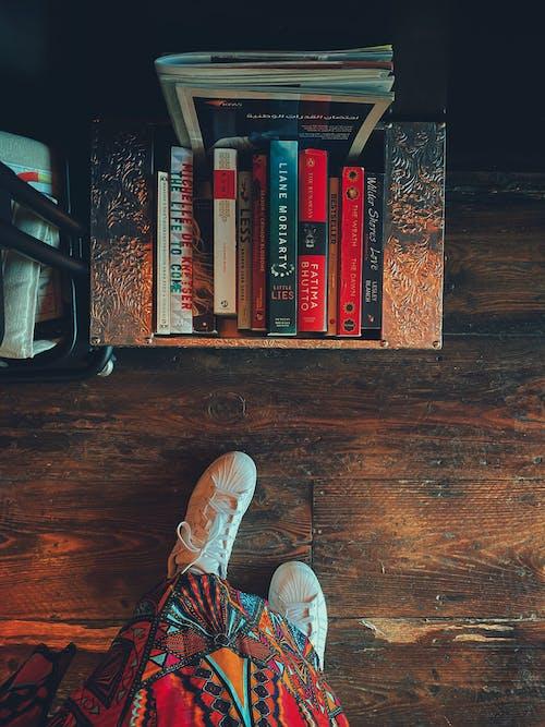 Free stock photo of boho style, book series, books, bookshelf