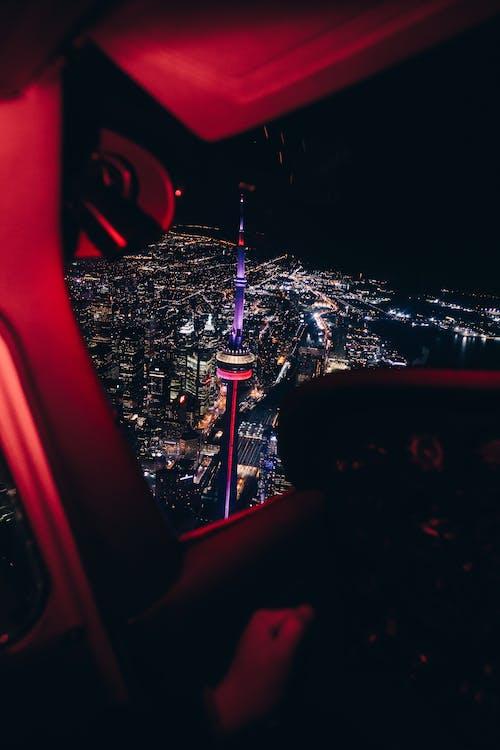 Foto profissional grátis de Canadá, carro, centro cidade, toronto, cidade da noite