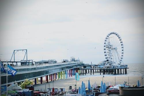 巨輪, 斯海弗寧恩, 海灘 的 免費圖庫相片