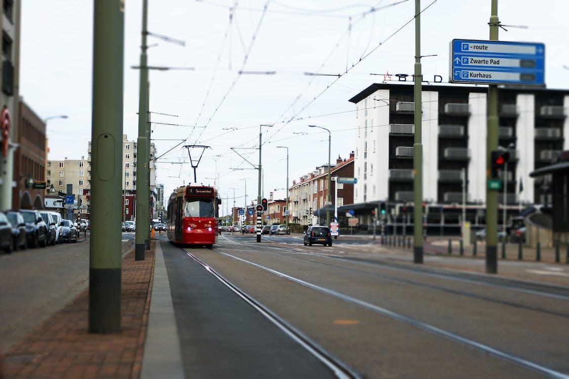 거리 사진, 네덜란드, 대중교통의 무료 스톡 사진