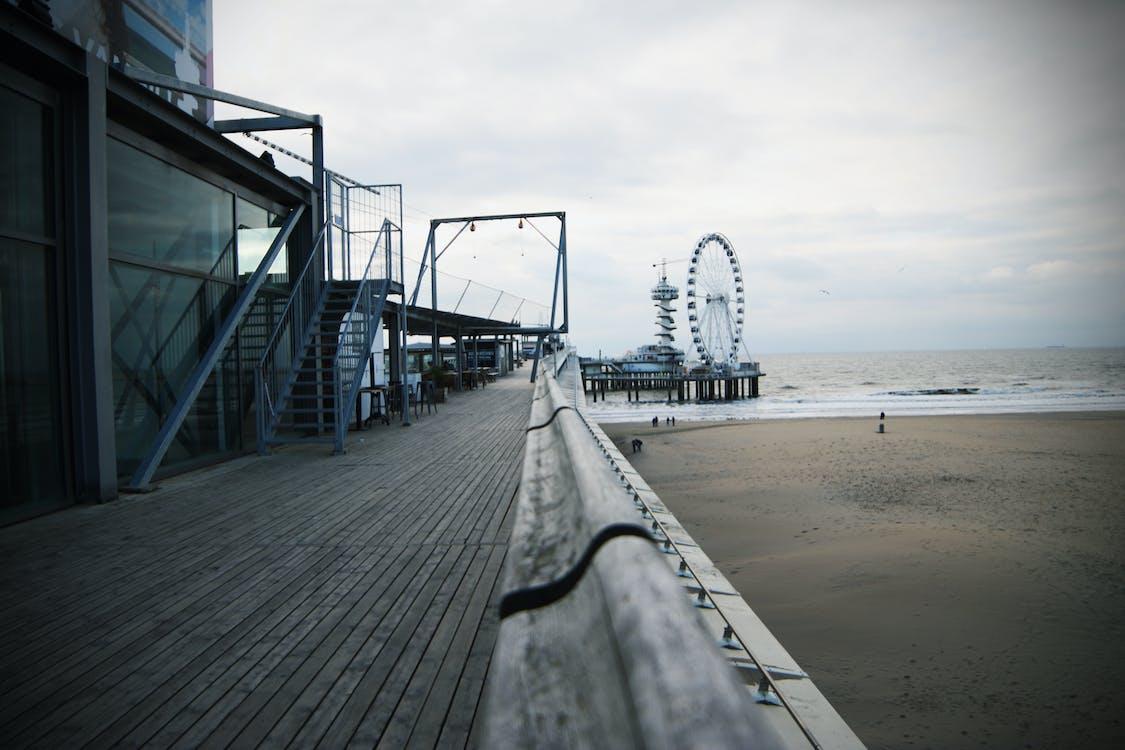 คลังภาพถ่ายฟรี ของ scheveningen, ชายหาด, ทราย