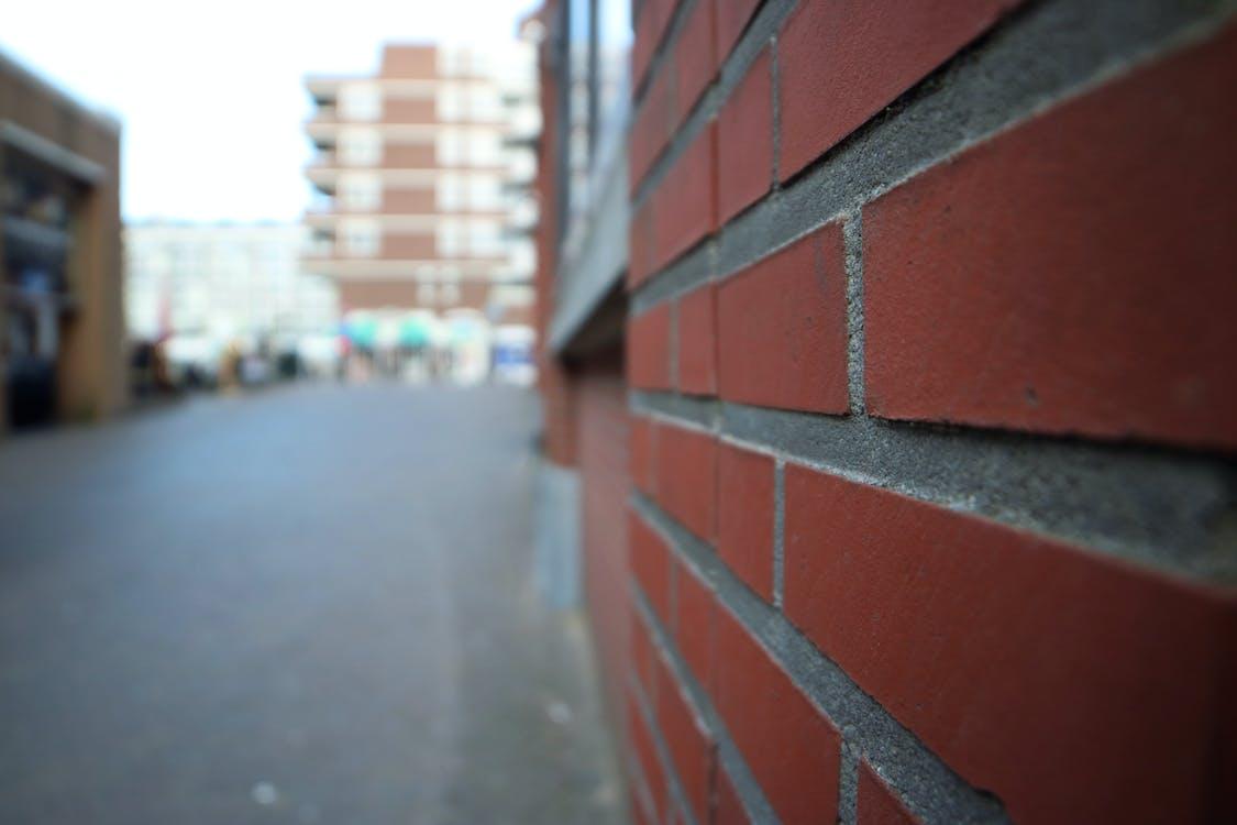 Free stock photo of brick wall, holland, scheveningen