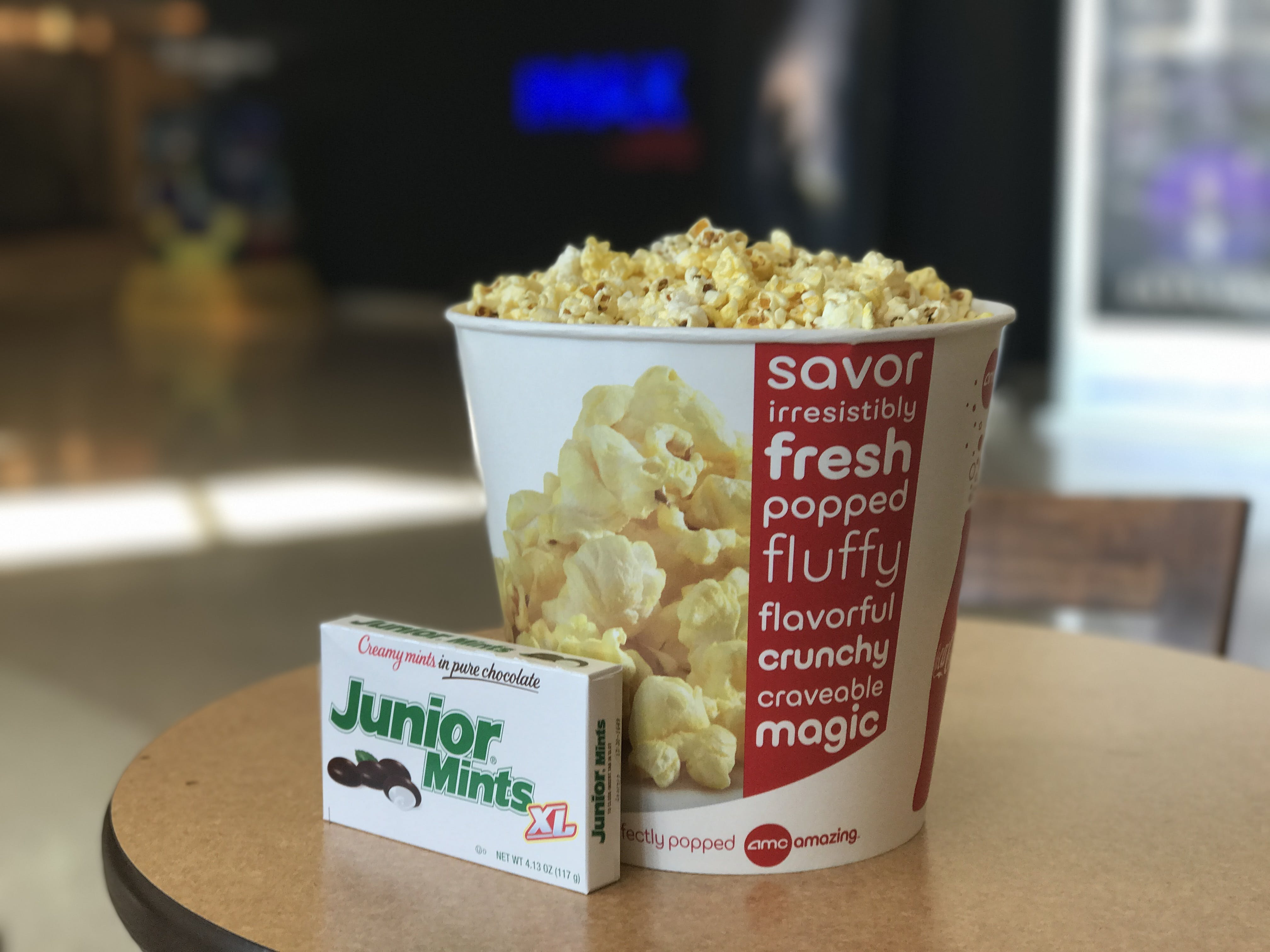 Free stock photo of candy, popcorn, movies
