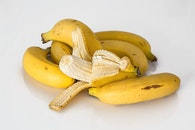healthy, yellow, bananas