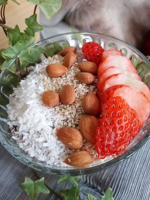 Free stock photo of almond, breakfast, food