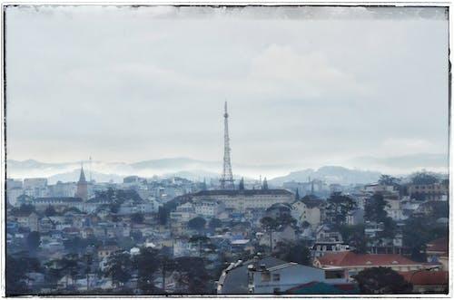 Free stock photo of city, landscape, mist