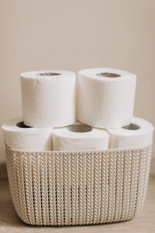 Бесплатное стоковое фото с бумажные салфетки, Ванная комната, гигиена